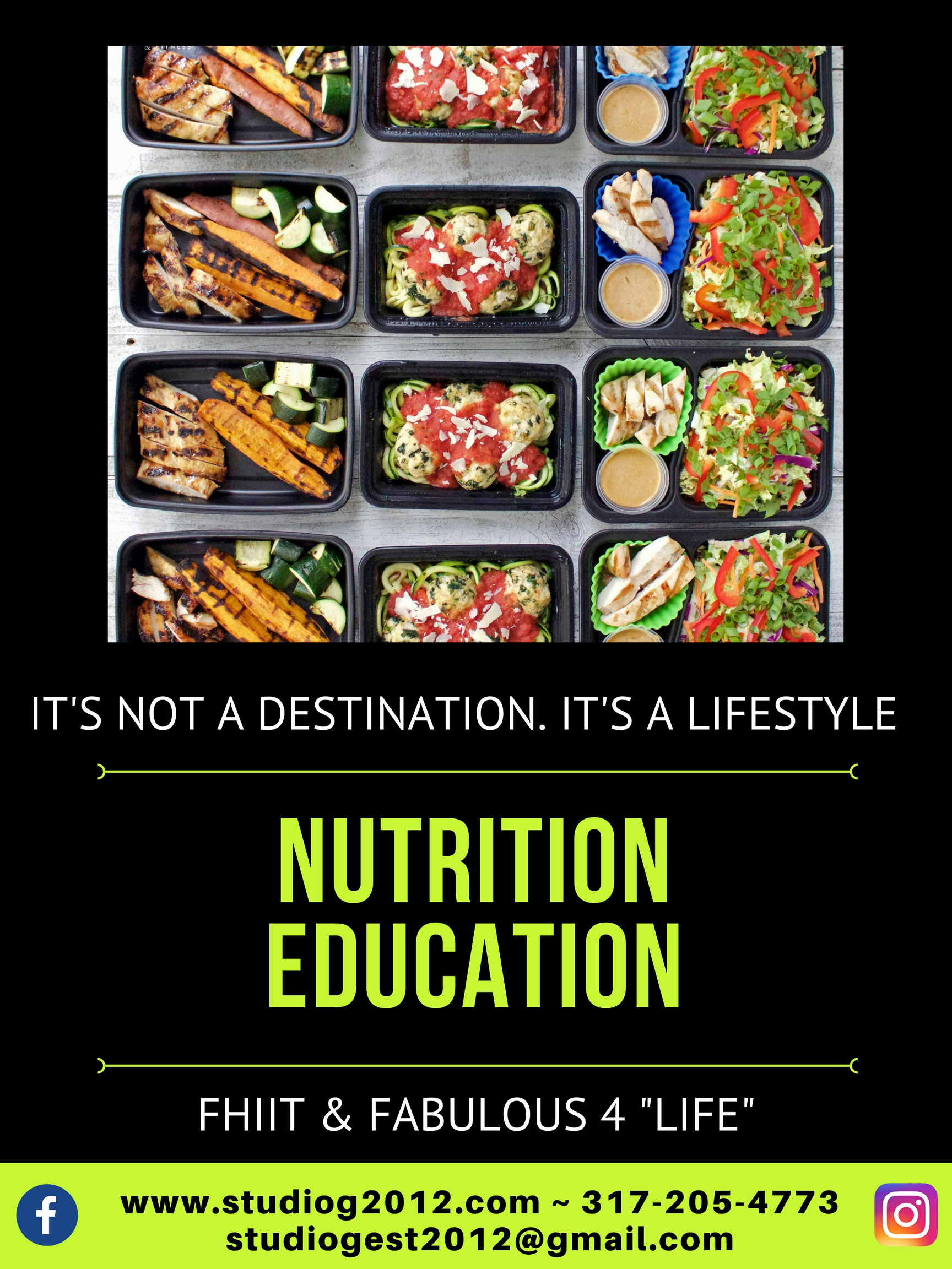 Completed Poster Nutrition Education