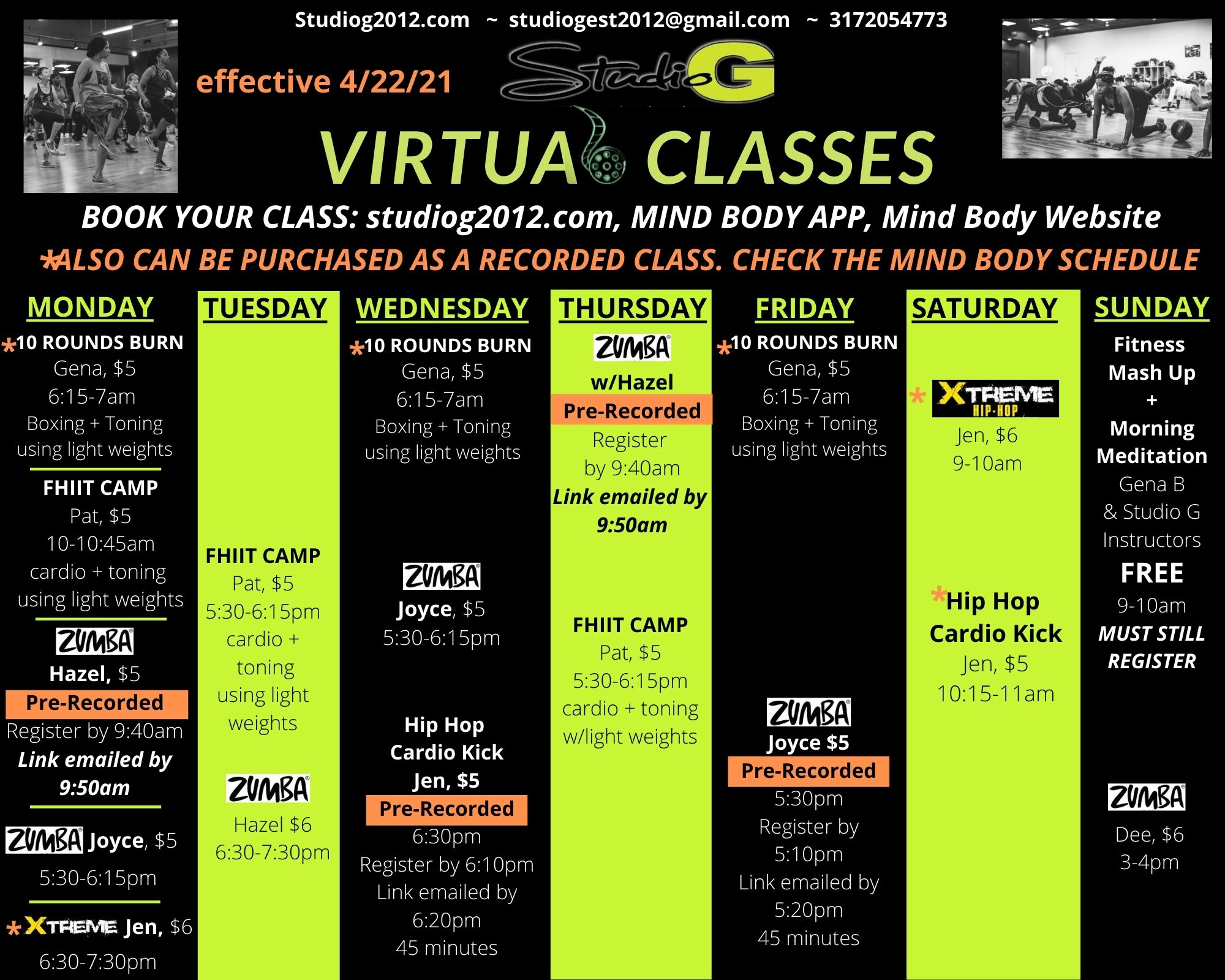 Virtual Schedule effective 4_22_21