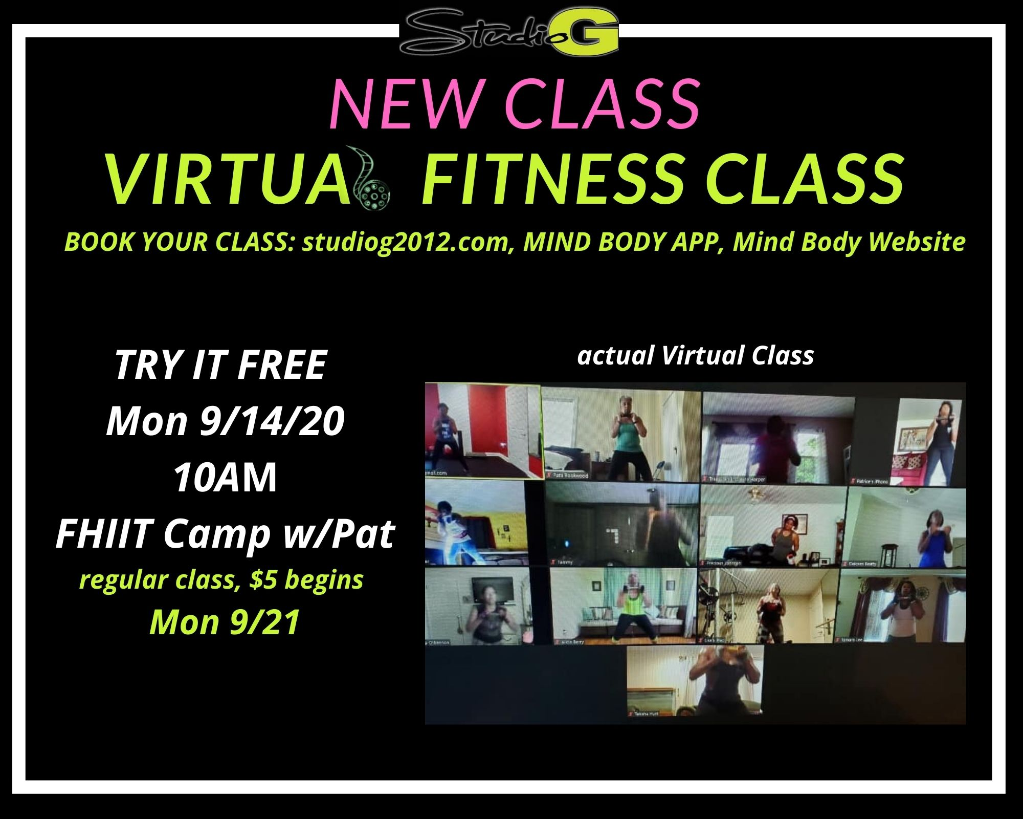 Free FHIIT Mon September 14