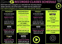 Recorded Classes (1)