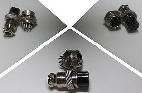 Многоштырьковые разъёмы, разъёмы для электро-соединений. Nebbia