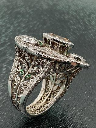 4 ct. Fancy Brown Diamond Ring