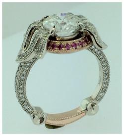 Rose Gold, Diamonds & Sapphires