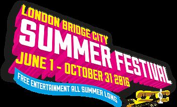 Lauren April @ London Bridge Summer Festival - Saturday 30th July 2016