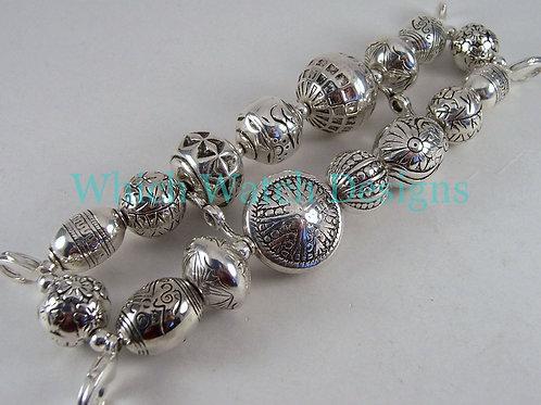 Plain Silver Watch Band