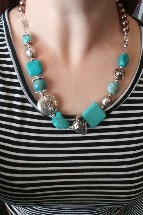 Simply Turquoise Necklace