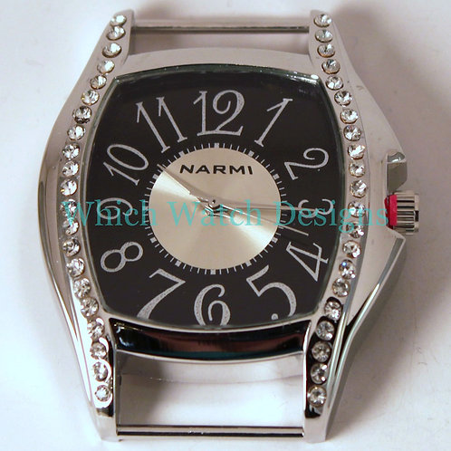 Large Tank Bling Watch Face