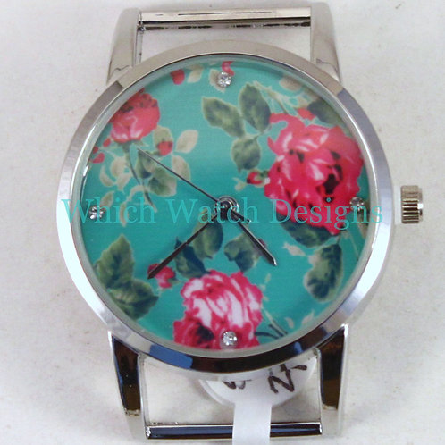 Shabby Floral Watch Face