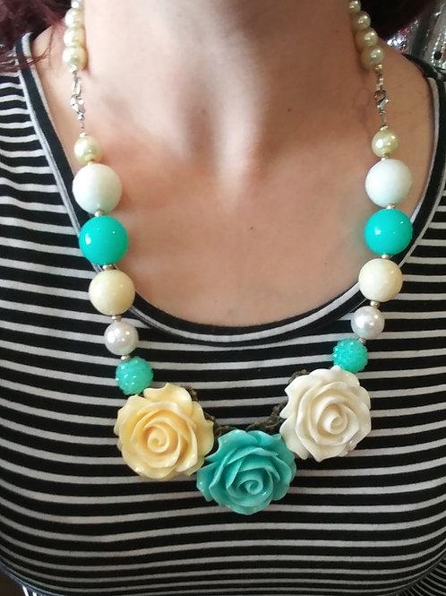 Floral Trio Necklace