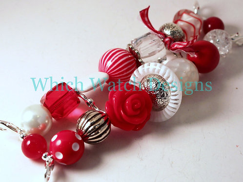 Candy Cane Watch Band