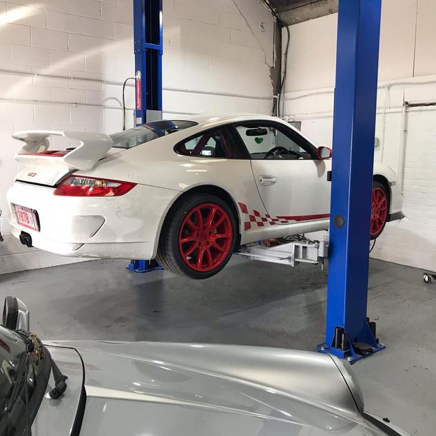 Porsche GT3 Service