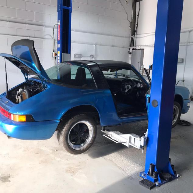 Porsche 911 2.7S Diagnostics