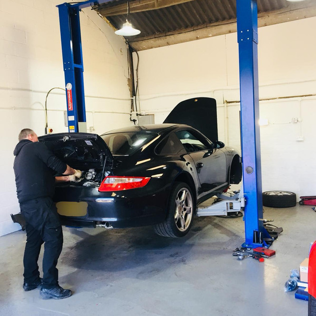 Porsche 997 Service