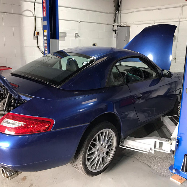 Porsche 996 Diagnostics