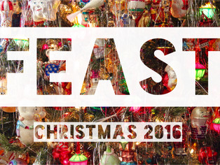 Time to book your private Christmas dinner at Feast... and fast!