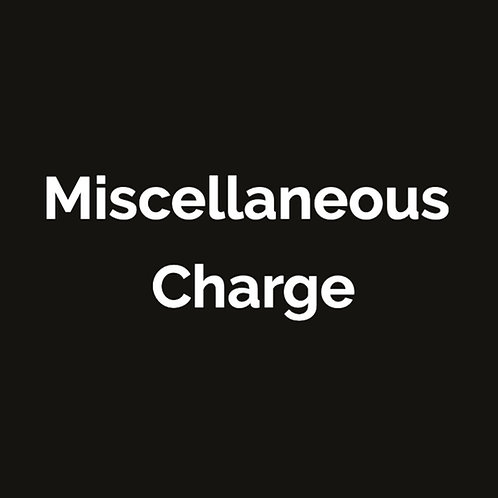 Miscellaneous Charge