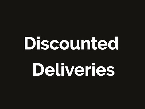 Information on Discounted Deliveries