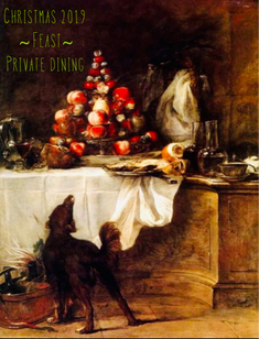 Private Christmas dinners at Feast