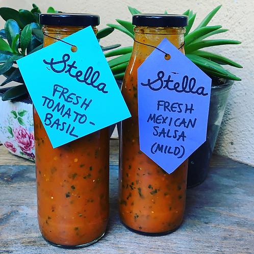 Fresh Summer Tomato Stella Dressings