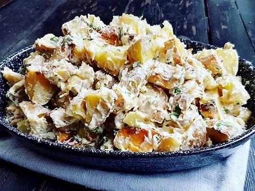 Lemon Aioli Roasted Potatoes