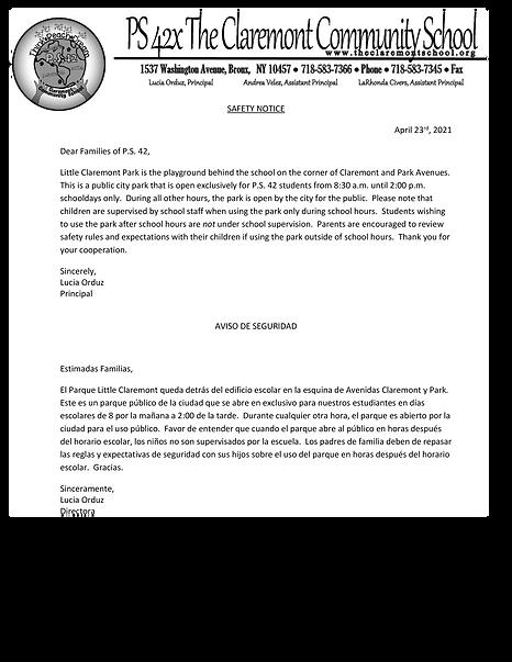 Little Claremont Park Safety Notice.png