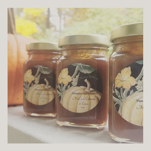 Pumpkin Spice Honey