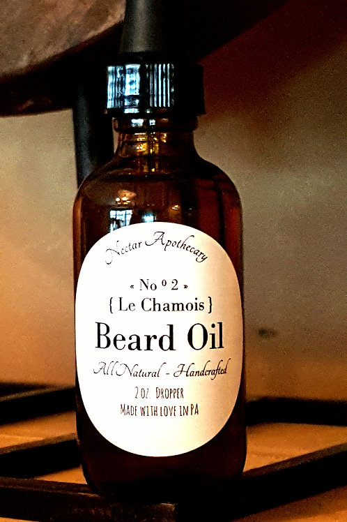 Beard Oil ||  Le Chamois  NO ° 2
