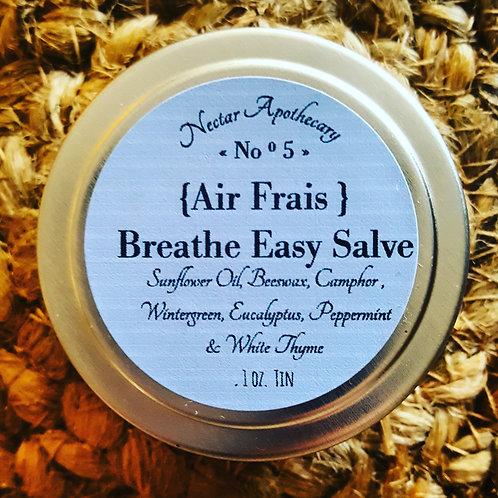 Breathe Easy Salve ||Air Frais No°5