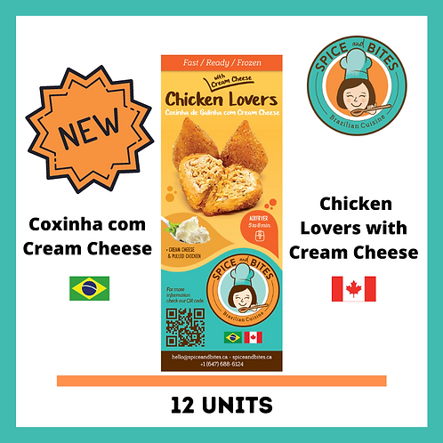 BAG 12 (NEW) - Chicken Lovers with Cream Cheese