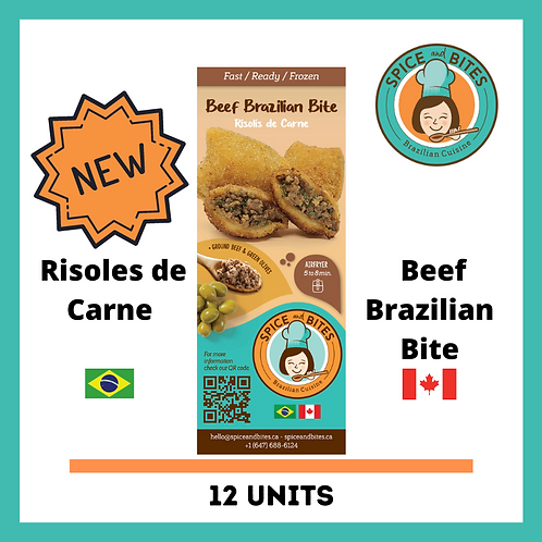 BAG 12 (NEW) - Beef Brazilian Bite