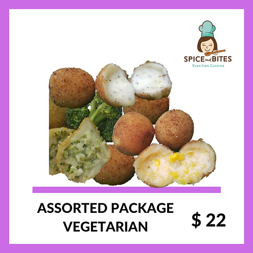 Assorted Package - VEGETARIAN- FROZEN