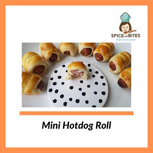 Mini Hotdog Roll- Totosinho de Salsicha