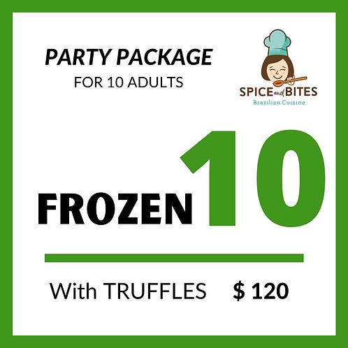 Party Package FROZEN 10 +TRUFFLES
