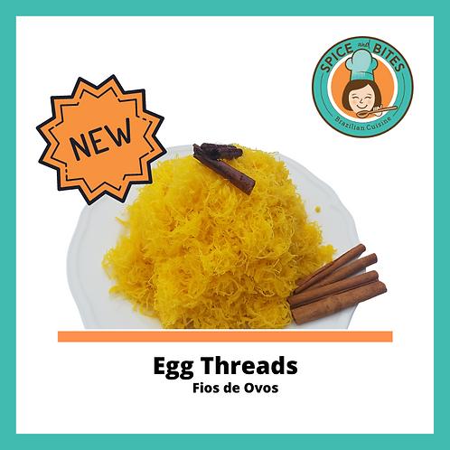 Egg Threads - Fios de Ovos (PRE ORDER)  130gr