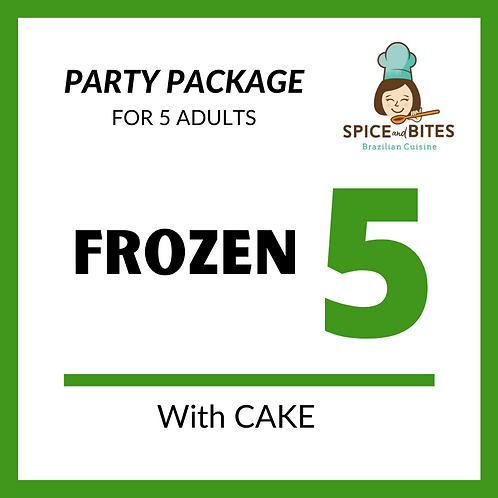 Party Package FROZEN 5 + CAKE