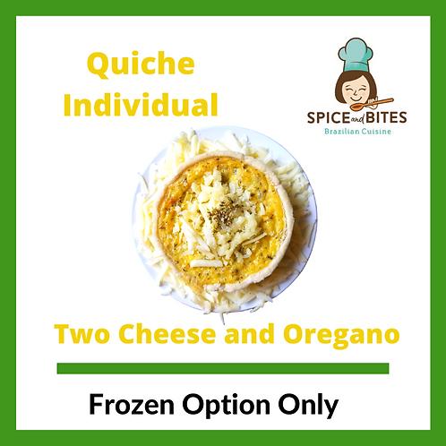 Two Cheese and Oregano Quiche