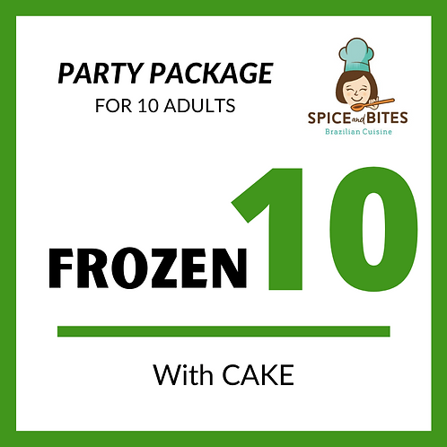 Party Package FROZEN 10 + CAKE