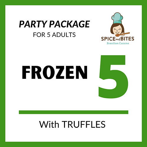 Party Package FROZEN 5 + TRUFFLES