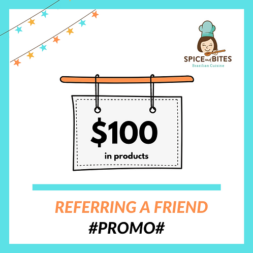 REFER A FRIEND - Promo