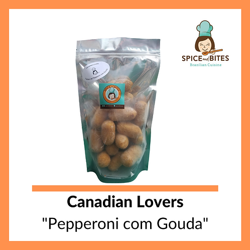 BAG 20 - Canadian Lovers  Pepperoni with Gouda