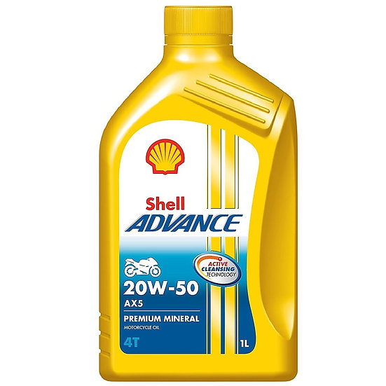 Aceite Shell Advance