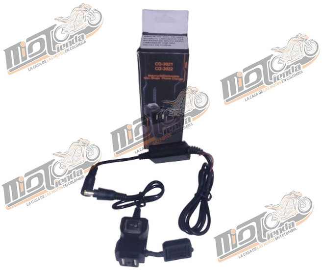 Cargador USB doble puerto