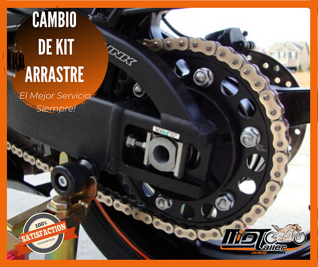 Cambio Kit Arrastre
