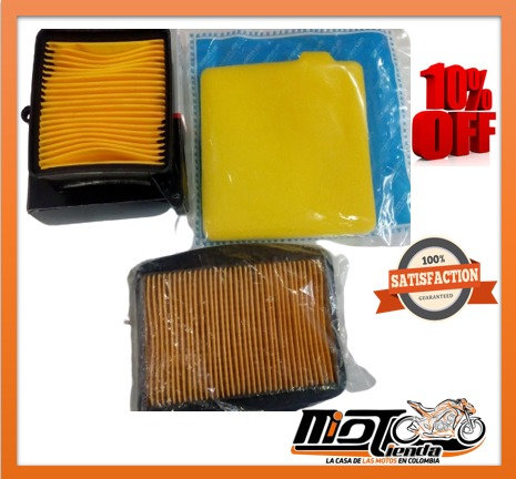Filtros de Aire para Motocicleta