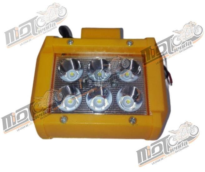 Exploradora 6 LED de Profundidad