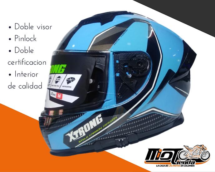 Xtrong 831 doble visor + pinlock