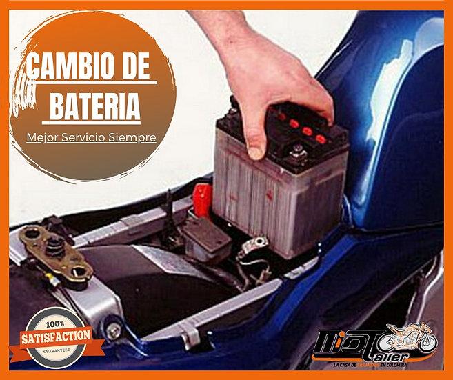 Cambio de Bateria