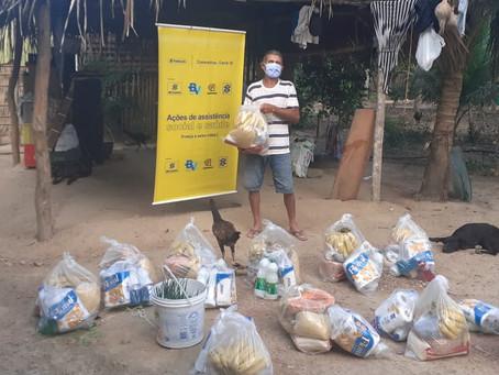Patriotismo: Parceria entre Adevima e MAB doa mil cestas básicas a famílias carentes