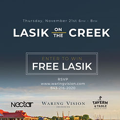 LASIK on the Creek Tavern and Table Nectar Sunglasses