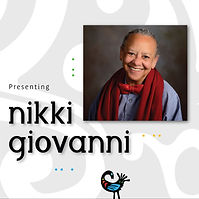 Black Ink Charleston Nikki Giovanni